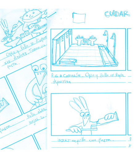 Modelmaking: Storyboards
